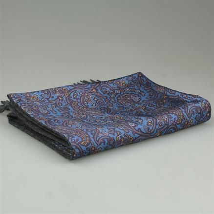 Shoes & Shirts Scarf paisley silk/cashm