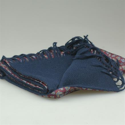 Shoes & Shirts Scarf paisley silk/wool