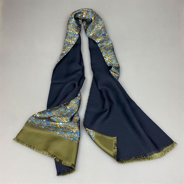 Shoes & Shirts Scarf silk/wool elephant
