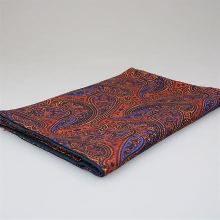 Shoes & Shirts Scarf wool bright paisley