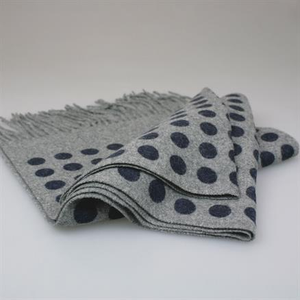 Shoes & Shirts Scarf wool/cashm dots