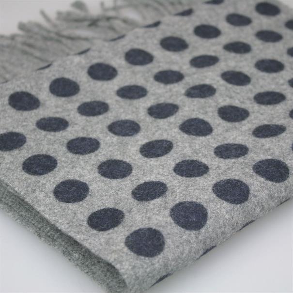 Shoes & Shirts Scarf wool/cashm dots