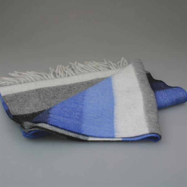 Shoes & Shirts Scarf wool/cashm stripe