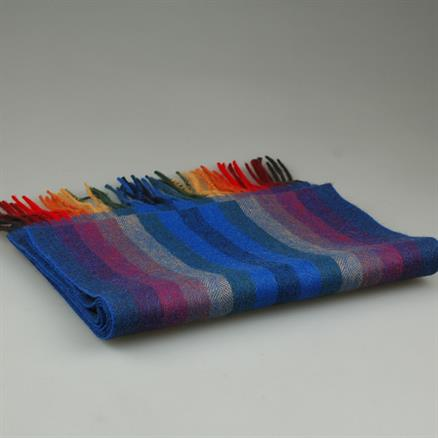 Shoes & Shirts Scarf wool multi stripe