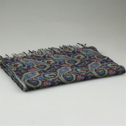 Shoes & Shirts Scarf wool paisley