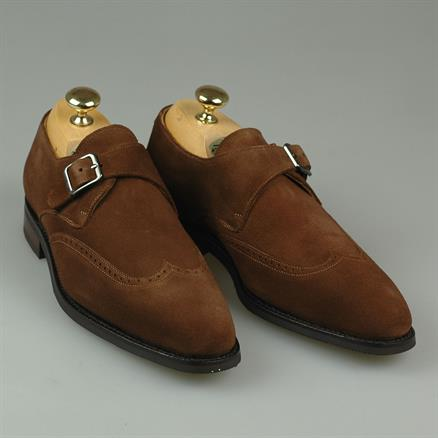 Shoes & Shirts Sevilla monkstrap suede
