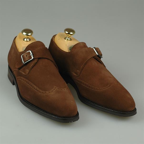 Shoes & Shirts Sevilla monkstrap suede