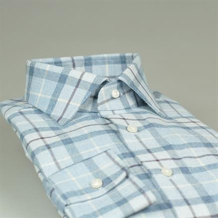 Shoes & Shirts Spread modern light flannel