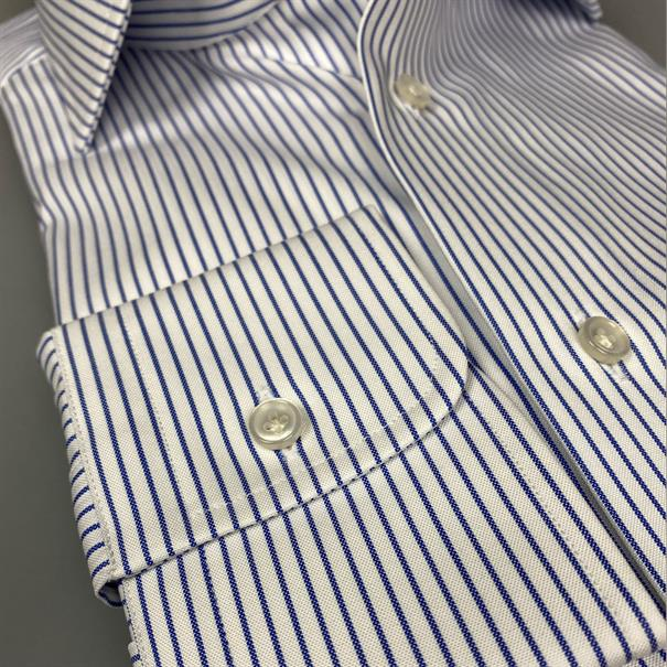Shoes & Shirts Spread modern luxe stripe