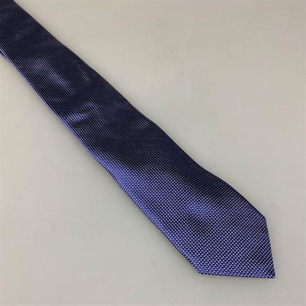 Shoes & Shirts Tie mini polka dot silk