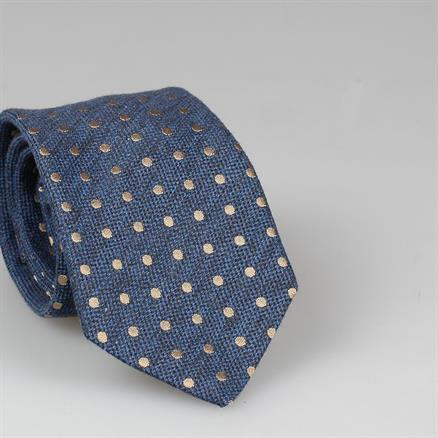 Shoes & Shirts Tie polka dot woven