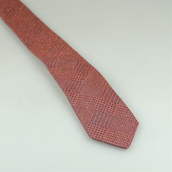 Shoes & Shirts Tie silk check