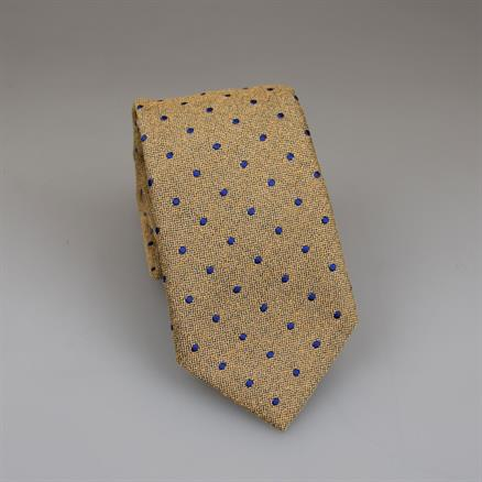 Shoes & Shirts Tie silk/cotton dot