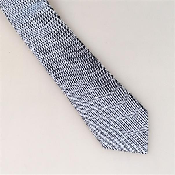 Shoes & Shirts Tie silk/cotton plain