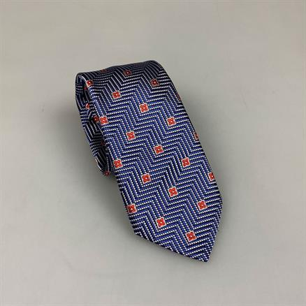 Shoes & Shirts Tie silk zig zag luxe