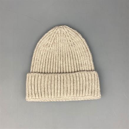 Shoes & Shirts Wool rib beanie hat
