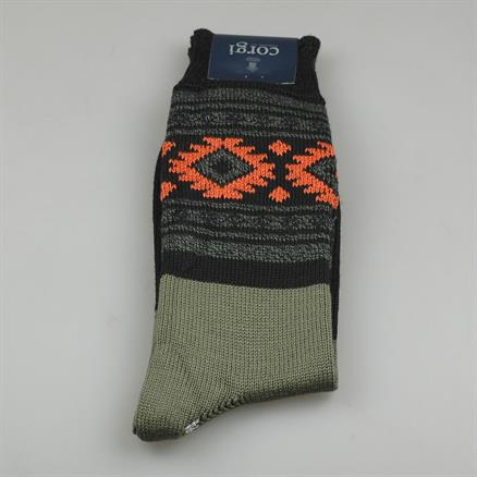 Sock aztec cotton