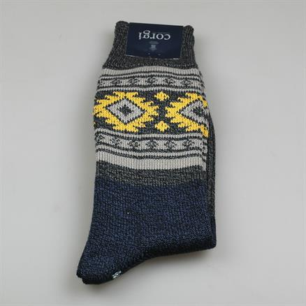 Sock aztec cotton
