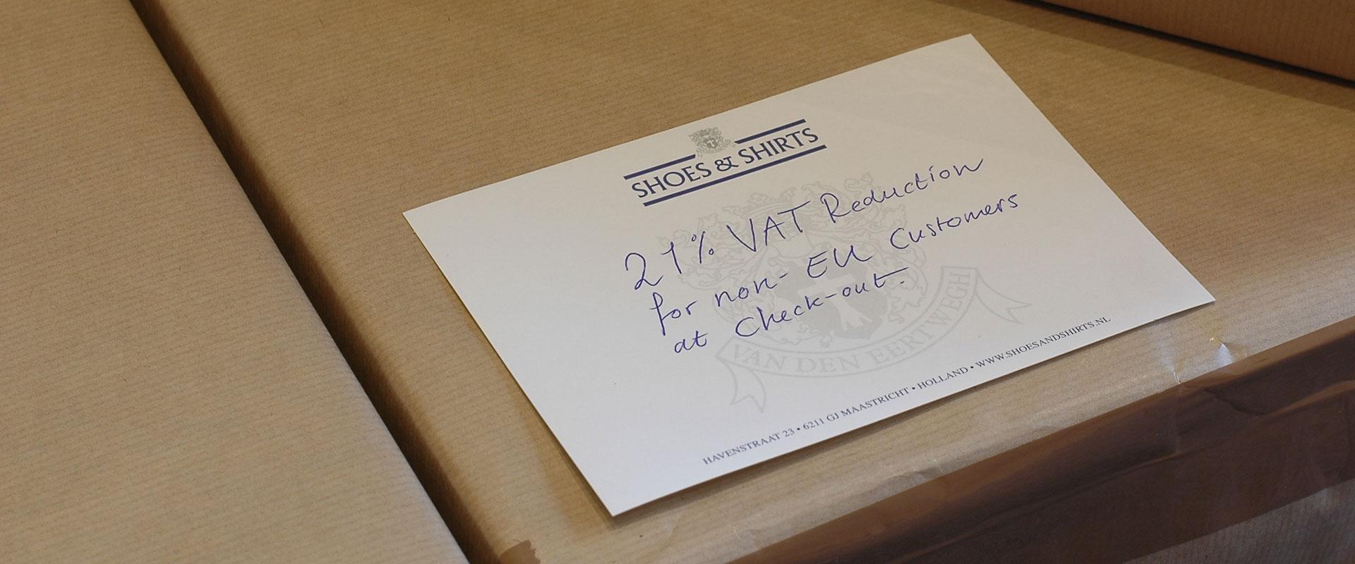 VAT shipping
