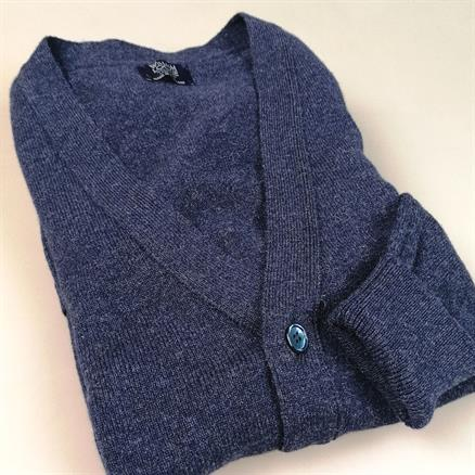 William Lockie Cardigan lambswool astra