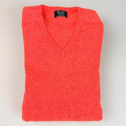 William Lockie Pull v-neck inferno